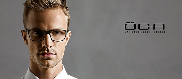 OGA Glasses male model high fashion stylish