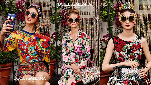 dolce & gabbana sunglasess high fashion model