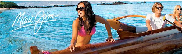 maui jim designer glasses people on boat