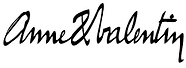 anne and valentin logo