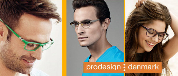 prodesign glasses model high fashion designer