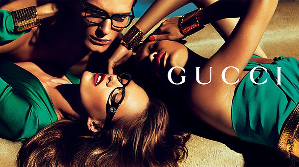 gucci designer eyewear high fashion model