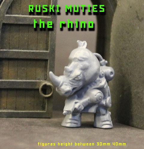 RUSKI MUTIE THE RHINO