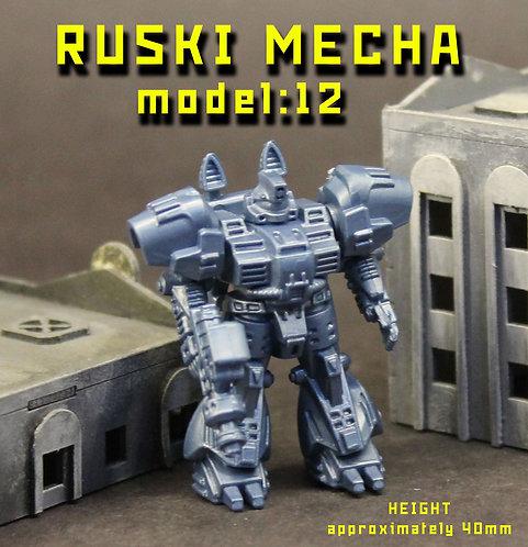 RUSKI MECHA MODEL12
