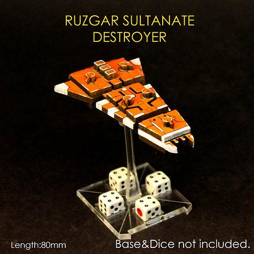 RUZGAR SULTANATE DESTROYER