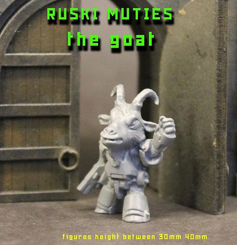 RUSKI MUTIE THE GOAT