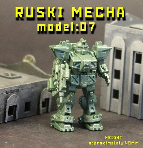RUSKI MECHA MODEL07