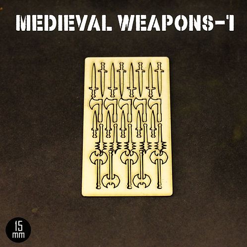 15mm Medieval Weapons-1