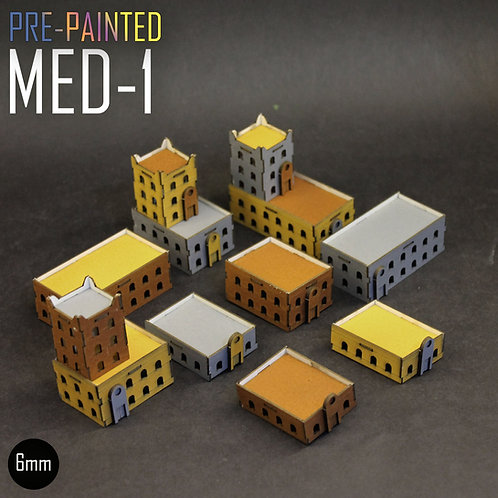 PRE-PAINTED MED-1