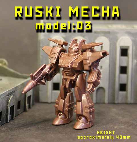 RUSKI MECHA MODEL03