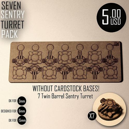 Seven Sentry Turret Pack