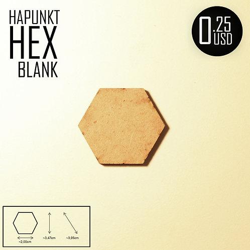 HAPUNKT HEX BLANK