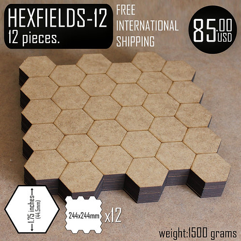 HEX FIELDS(12)