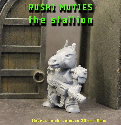 RUSKI MUTIE THE STALLION