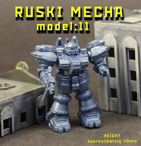 RUSKI MECHA MODEL11