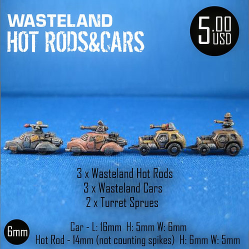 Wasteland Hot Rods&Cars