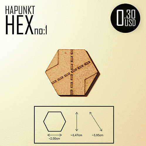 HAPUNKT HEX no:1