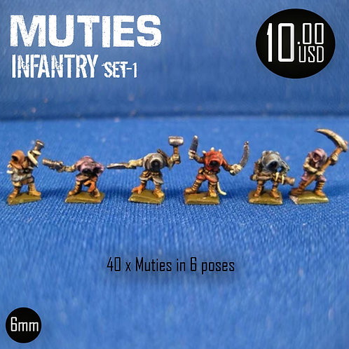 Muties Infantry Set2
