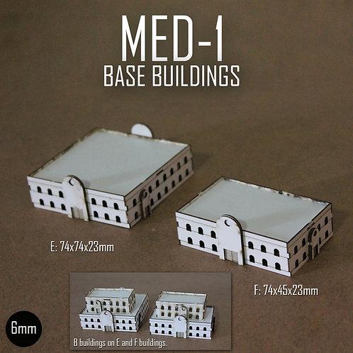 MED-1 BASE BUILDINGS