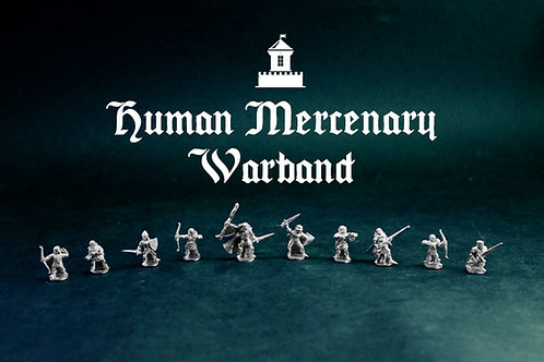 Human Mercenary Warband