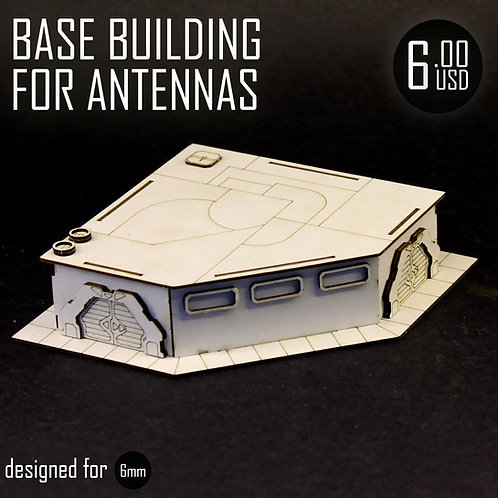 Base Building For Antennas