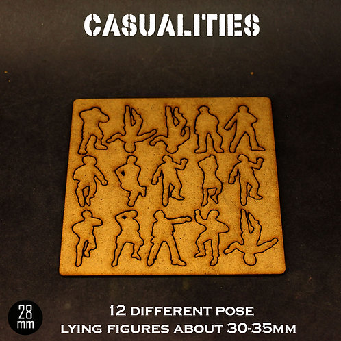 28MM CASUALITIES