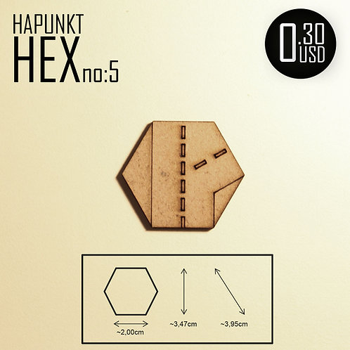 HAPUNKT HEX no:5