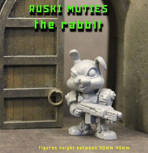 RUSKI MUTIE THE RABBIT