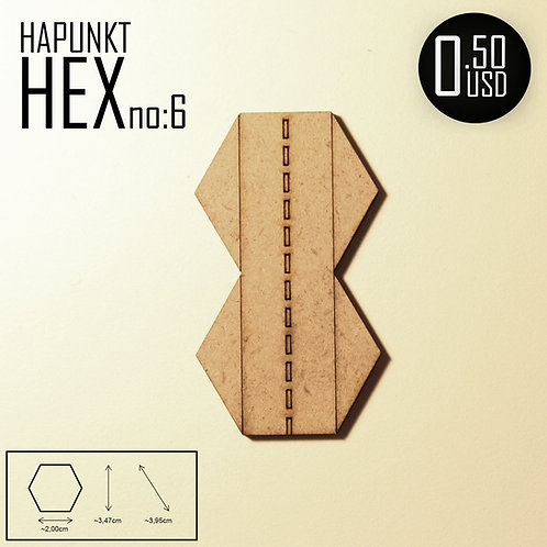 HAPUNKT HEX no:6