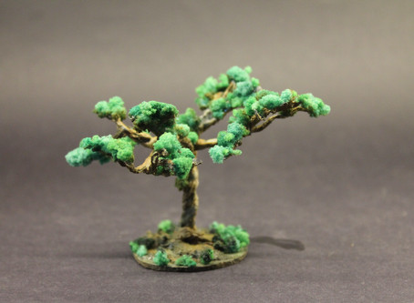 Making Trees Out of Jute Yarn