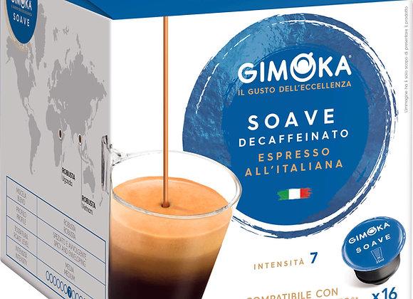 Cápsulas de Café DESCAFEINADO Compatible Dolce Gusto*