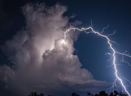 Nouvelle semaine perturbée avec orages, pluies et températures en dessous des normes de saisons !
