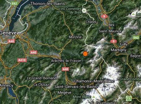 Haute-Savoie : La terre a tremblé samedi soir!
