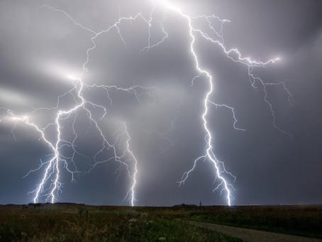 Météo: Dégradation orageuse marquée mercredi après-midi, risque de grêle et fortes rafales de vent!