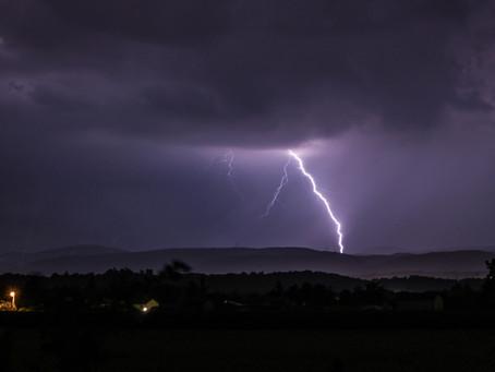 COMMUNIQUE SPÉCIAL: Fête de la musique,violents orages ce vendredi du massif-Central à la vallée du