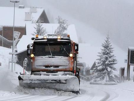Météo: Episode neigeux significative et inhabituel pour la saison sur le sud du massif-Central, jusq