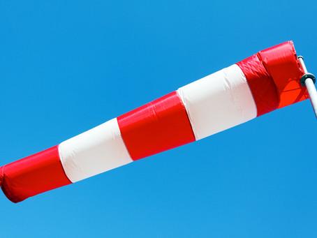 Violent coup de vent mercredi, jusqu'à 90/100km/h du sud de la Loire au nord-Isère et au Lyonnais !