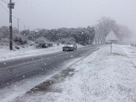 COMMUNIQUE SPÉCIAL : Les conditions hivernales s'installent la semaine prochaine, froid et neige