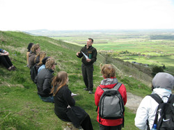 National Trust lecture at Devil's Dyke (