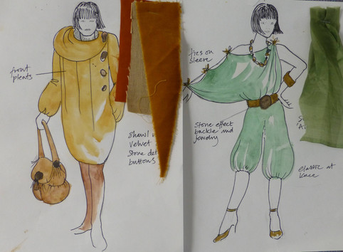 English Plus Fashion student designs (1)