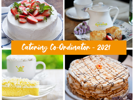 Catering Co-Ordinator needed!
