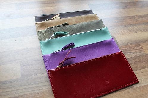 Leather case flat big