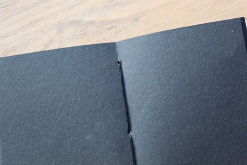Black paper insert