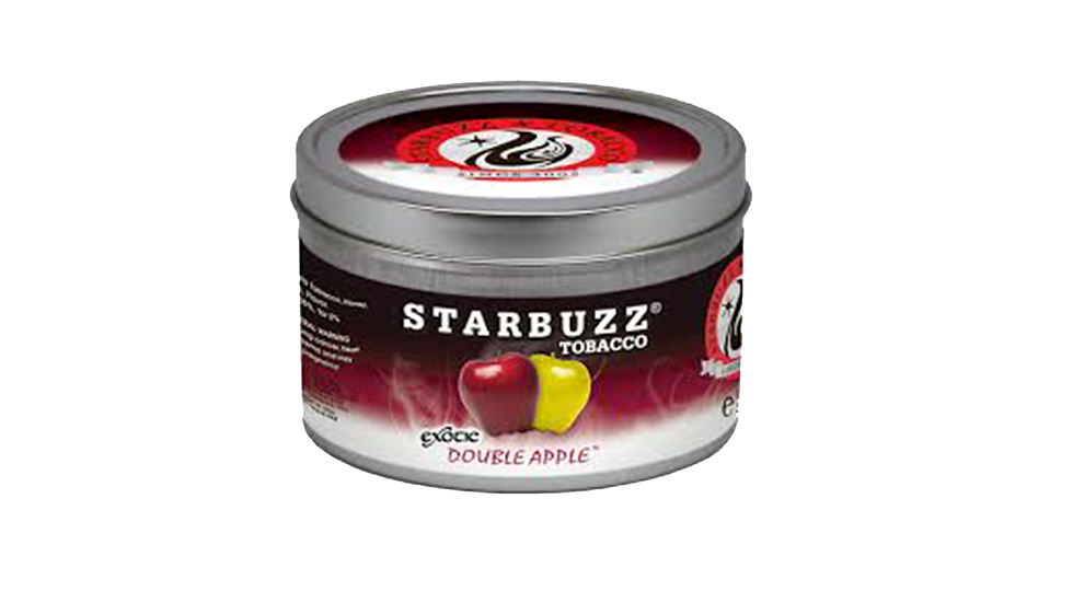 Double Apple Starbuzz Shisha 100g