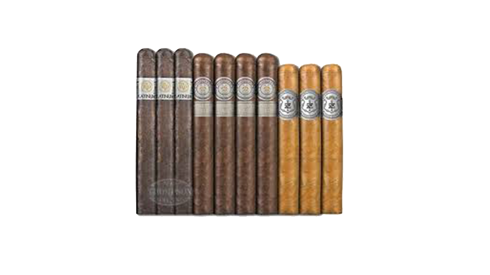 : Platinum 10 Cigar Super Premium Sampler