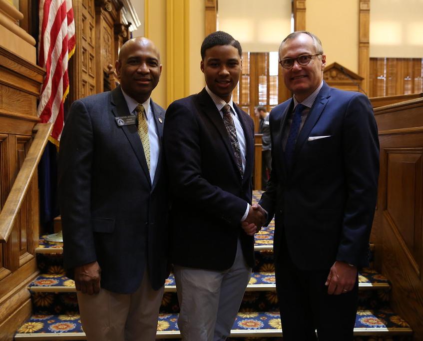 Senator Jackson & Lt. Governor Cag