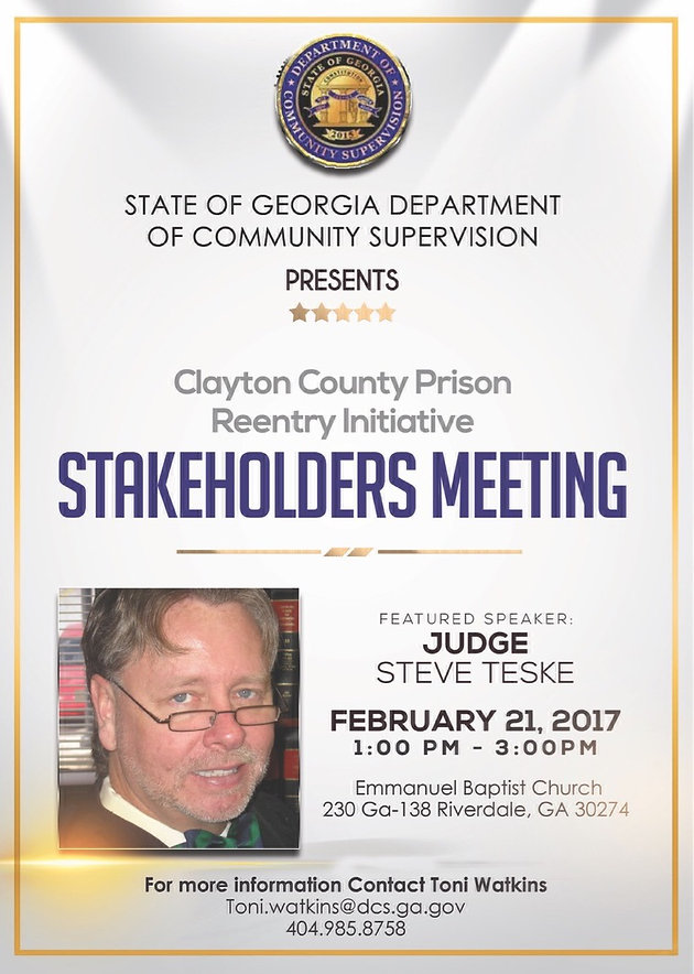 Clayton County Prison Reentry Initiative
