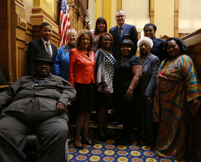 Dodson/Wyatt Family and Senators