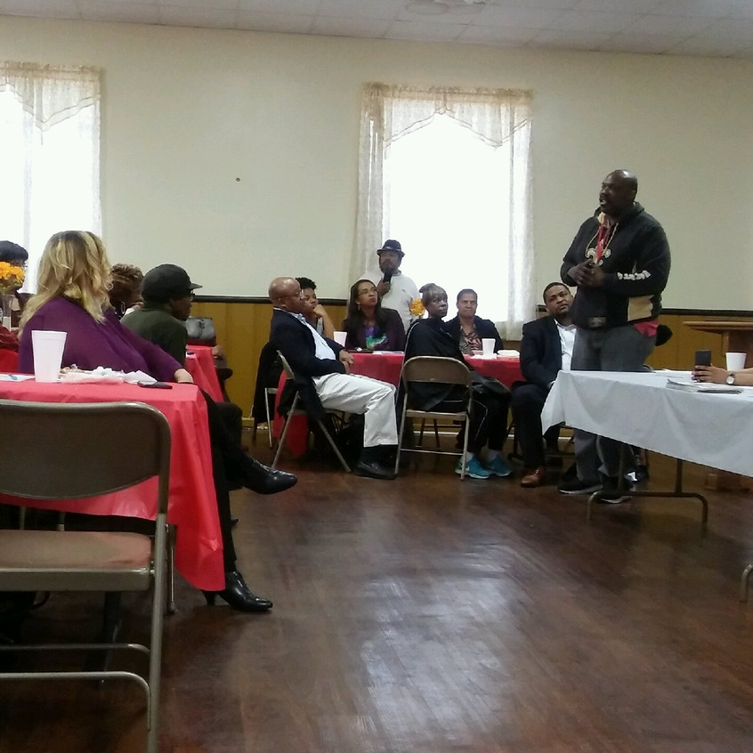 Clayton Prison Reentry Meeting