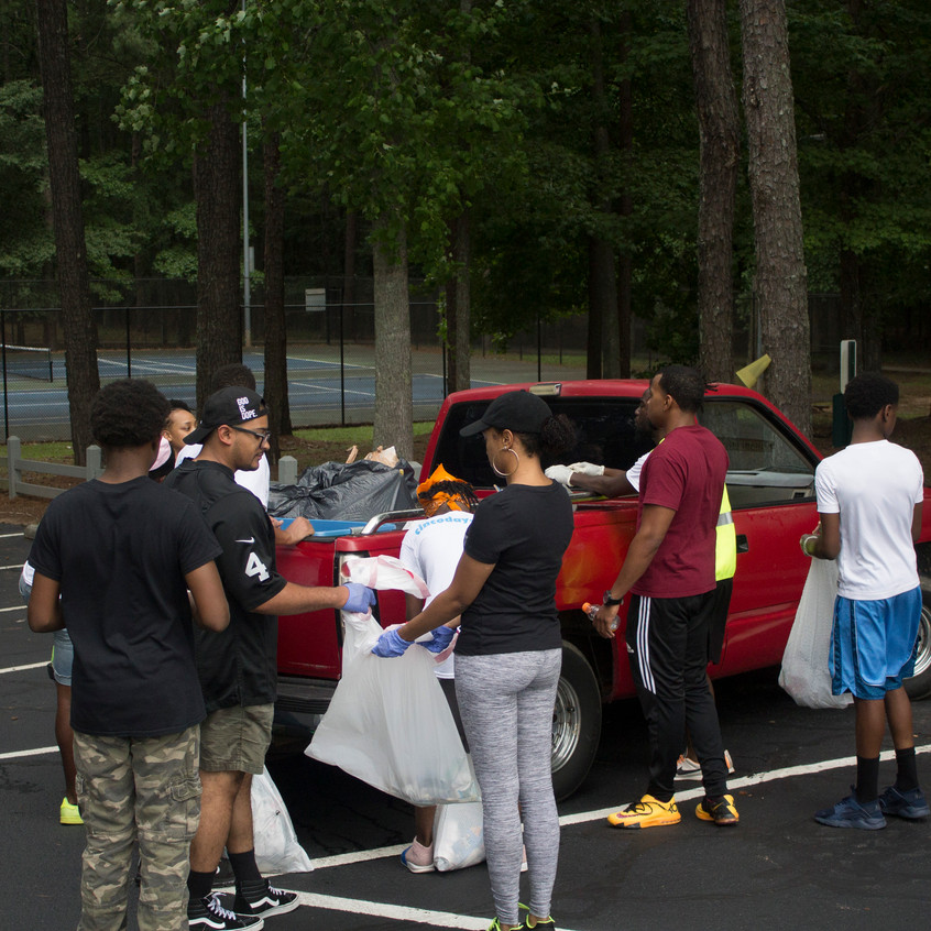 Pointe South Clean Up & BBQ
